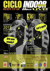 CICLO INDOOR SOLIDARIO BIKE LIVE