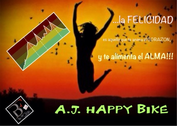 A.J. HAPPY BIKE lunes 9:30- 20:00 - 21:00 Hrs BEFIT