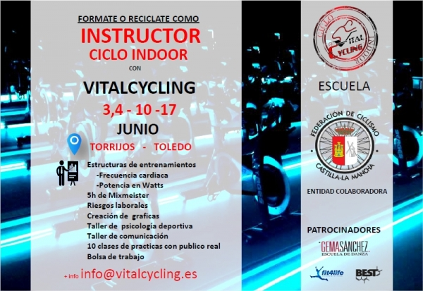 CURSO INSTRUCTOR VITALCYCLING JUNIO 2017