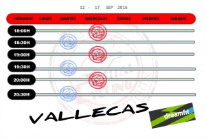 DREAMFIT VALLEKAS 12-17 SEP